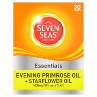 Seven Seas Evening Primrose Oil Plus Starflower Oil 1000mg 30 Capsules