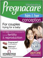Vitabiotics pregnacare his and hers conception 60 tablets