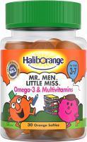 Haliborange Mr. Men Little Miss Omega-3 & Multivitamin Orange - 30 Softies
