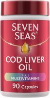 Seven Seas Cod Liver Oil Plus Multivitamins, 90 Capsules