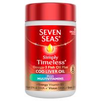 Seven Seas Cod Liver Oil Plus Multivitamins, 30 Capsules