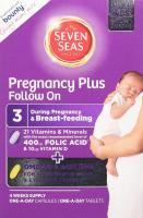 Seven Seas Pregnancy Plus Follow On, 4 Weeks Supply - 56 Capsules