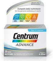 Centrum Advance Multivitamin, 30 Tablets