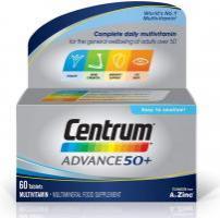 Centrum Advance 50+ Multivitamin, 60 Tablets