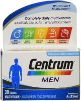 Centrum Men Multivitamin, 30 Tablets