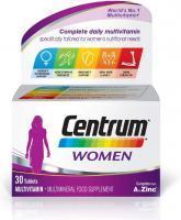 Centrum Women Multivitamin, 30 Tablets