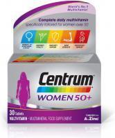 Centrum Women 50+ Multivitamin, 30 Tablets
