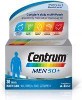 Centrum Men 50+ Multivitamin, 30 Tablets