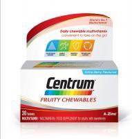 Centrum Multivitamin Fruity Chewables, 30 Tablets