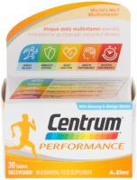 Centrum Performance Multivitamin, 30 Tablets