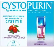 CystoPurin Cranberry Flavoured, 6 Sachets