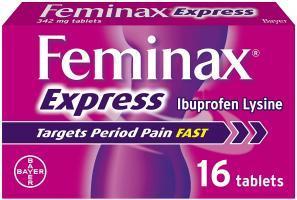 Feminax Express ,16 Tablets