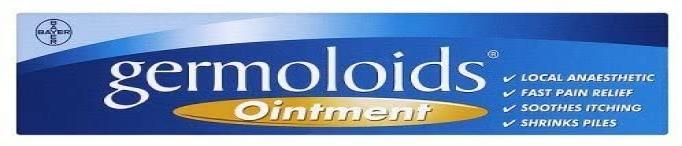Germoloids Triple Action Haemorrhoids & Piles Ointment, 25ml