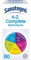 Sanatogen A-Z Complete Multivitamin , 60 Tablets