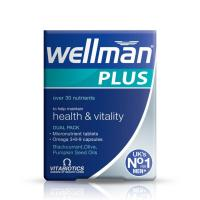 Wellman Plus Omega 3-6-9 Capsules 28S And Tablets 28S