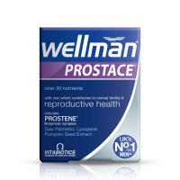 Wellman Prostace Vitamin Mineral And Botanical Food Supplement Tablets 60S
