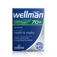 Wellwoman Health And Vitality Tablets 70+ 30S