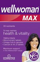 Wellwoman Max Triple Pack Nutrients Tablets - 84S