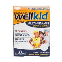 Vitabiotics Wellkid Smart Chewable Multi-Vitamins - 30 tablets
