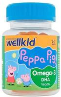 Vitabiotics Peppa Pig Omega-3 DHA vegan Soft Jellies