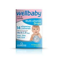 Wellbaby Multi-Vitamin Drops 30ml