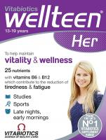 Vitabiotics Wellteen Her Plus - 56 Tablets/Capsules