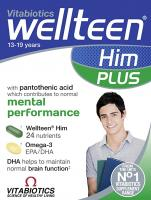 Vitabiotics Wellteen Him Plus - 56 Tablets/Capsules