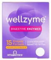 Vitabiotics Wellzyme 15 Enzyme Advanced Formula 60 Capsules