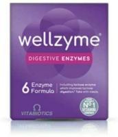 Vitabiotics Wellzyme 6 Enzyme 60 Capsules