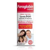 Vitabiotics Feroglobin Plus Liquid Iron 200ml