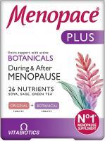 Vitabiotics Menopace Plus Tablets Duals  - Pack of 56