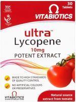 Vitabiotics Ultra Lycopene 10mg Tablets 30S