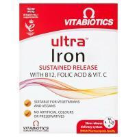 Ultra Minerals Tablets Iron - 30 Tablets