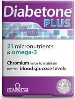 Vitabiotics Diabetone Plus Omega-3 Capsules 28S And Tablets 28S