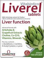 Vitabiotics Liverel Tablets - 60 Tablets