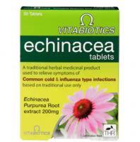 Vitabiotics Echinacea Tablets  30