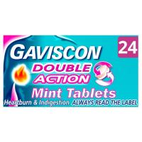 Gaviscon Double Action Tabs 24