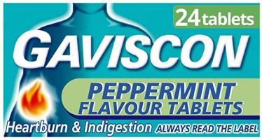 Gaviscon Tablets Peppermint 24