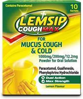 Lemsip Mucus Cough Sachet 10S