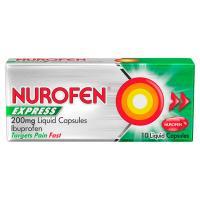 Nurofen Express Liquid Capsules 200mg 10S