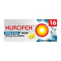 Nurofen Cold And Flu Relief Tablets 16S