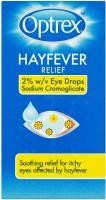 Optrex Eye Drops For Hay Fever Relief 10ml