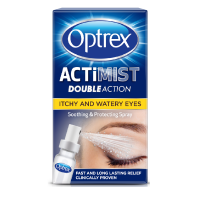 Optrex Eye Drops Double Action For Itchy & Watery Eyes 10ml
