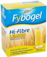 Fybogel Hi-Fibre Lemon Sachets 10S