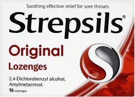 Strepsils Lozenges Original 16S