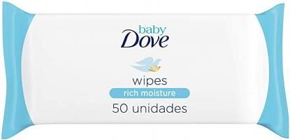 Dove Baby Wipes Rich Moist 50