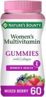 Nature's Bounty Women's Multivitamin Gummies with Collagen - Pack of 60 Gummies