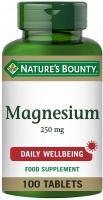Natures Bounty Magnesium 250Mg