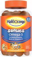 Haliborange Omega-3 Multivitamin Orange Softies - 60 Softies