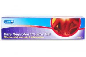 Care+ Ibuprofen 5% Gel - 50gm